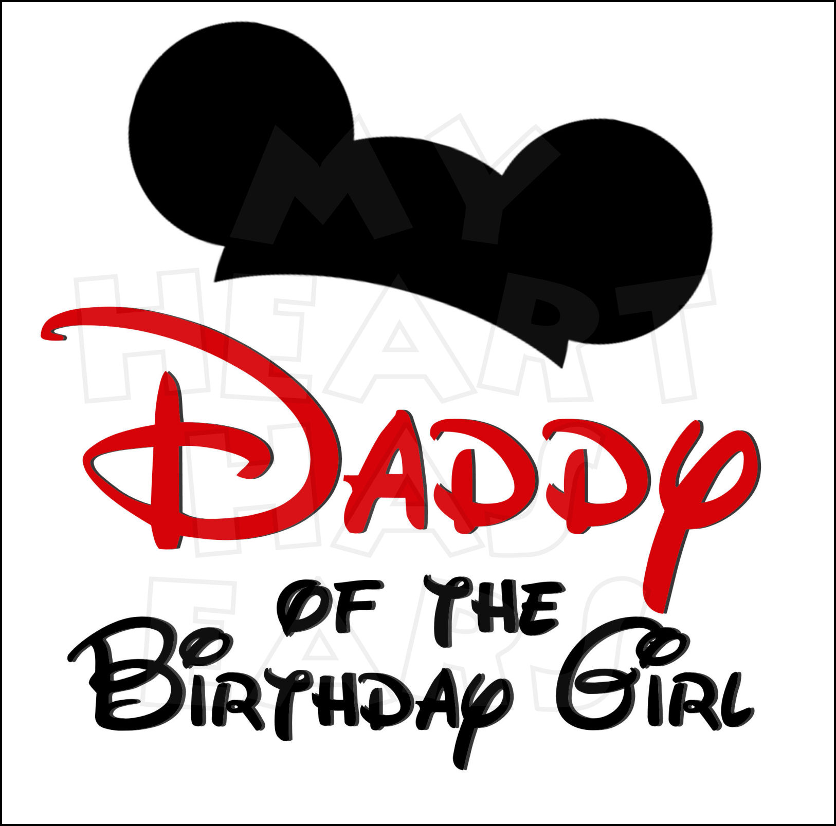 1626x1608 Family Of Birthday Boy Amp Girl With Mouse Ears My Heart Has Ears