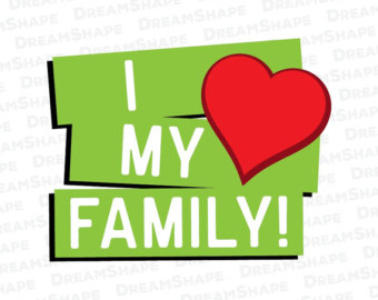 340x270 Collection Of I Love My Family Clipart High Quality, Free