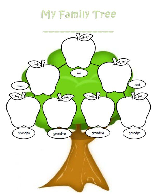 600x745 Stylist Design Ideas Clipart Family Tree Template Word Free