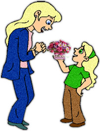 203x266 Animated Mother's Day Clipart