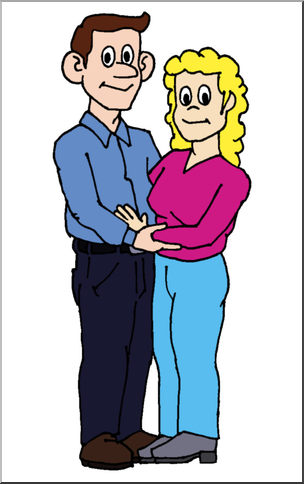 304x484 Clever Design Mother And Father Clipart Only 5 Station Clip Art