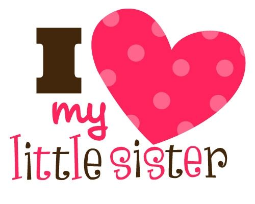 500x400 I Love My Sister Clipart