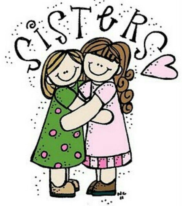 635x720 Sisters Sisterly Love Lds Clipart