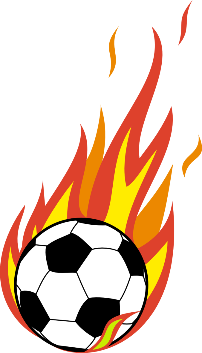 676x1180 Flaming Ball Clipart