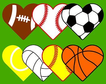 340x270 Soccer Heart Svg Etsy