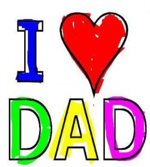 520x578 Dad Girl Cliparts
