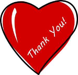 300x290 Thank You Cartoon Clip Art Clipart Collection