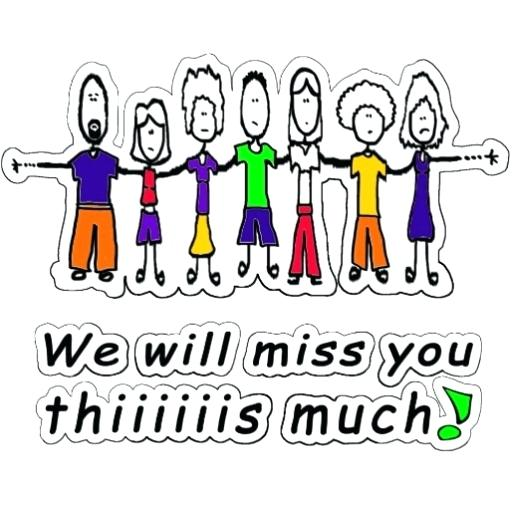 512x512 We Miss You Clip Art