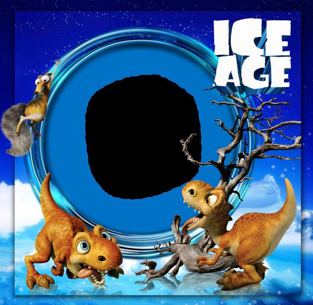 643x627 Ice Age Kids Photo Frameu200b Gallery Yopriceville