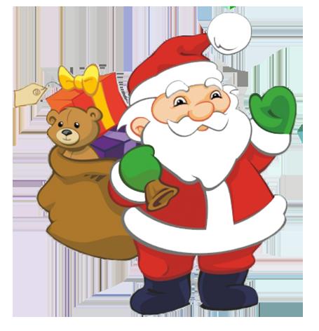 455x472 Santa Claus Clipart Free Cliparts