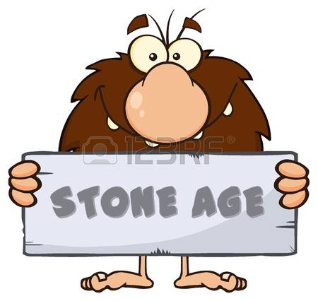 450x426 Caveman Clipart Stone Age Person