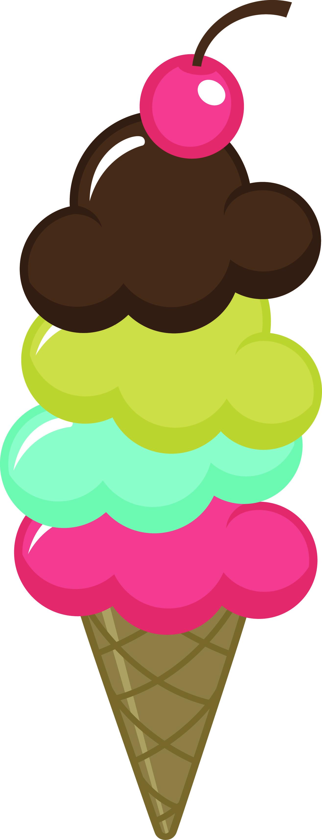 1315x3423 Ice Cream Cone Clip Art
