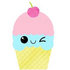 Cute Ice Cream Cone Clip Art