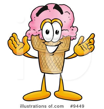 400x420 Ice Cream Clip Art Free Ice Cream Cone Clipart 9449 Illustration