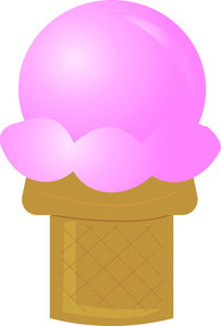203x300 Free Clip Art Ice Cream Cone Ice Cream Clip Art And Stock