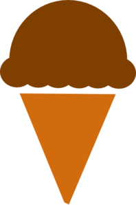 198x298 Ice Cream Silhouette Clip Art