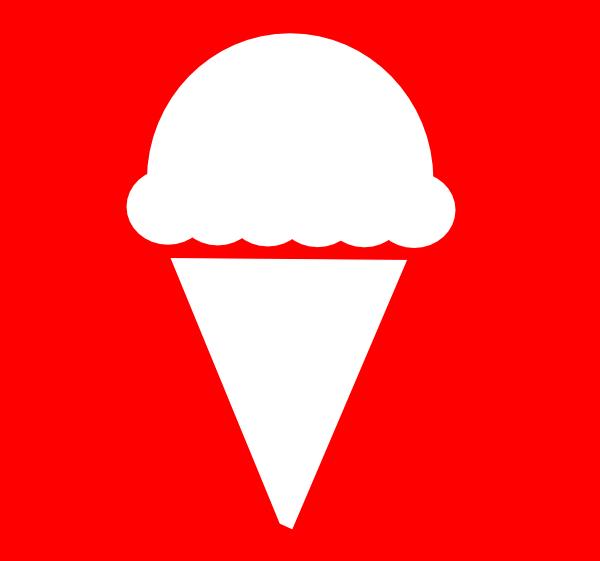 600x561 Ice Cream Icon Clip Art Free Vector 4vector