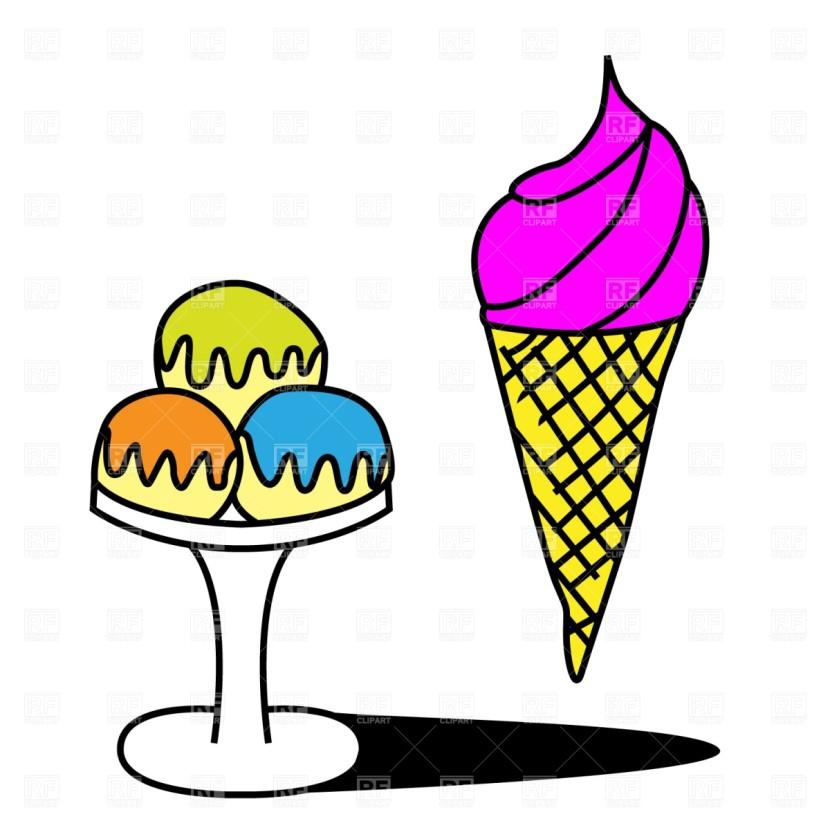 830x830 Best Ice Cream Cup Clipart