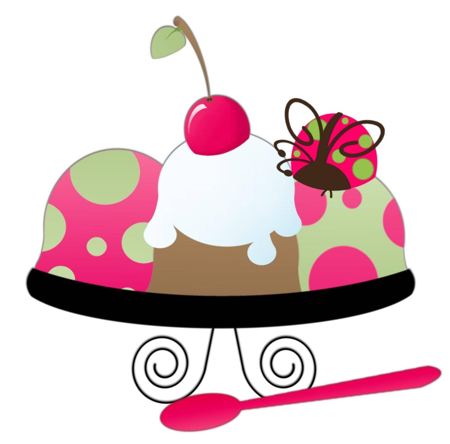 1456x1436 Ice Cream Sundae Clipart Free Images 8