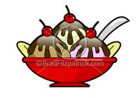 200x140 Ice Cream Sundae Clipart Ice Cream Art Clip Art Of An Ice Cream