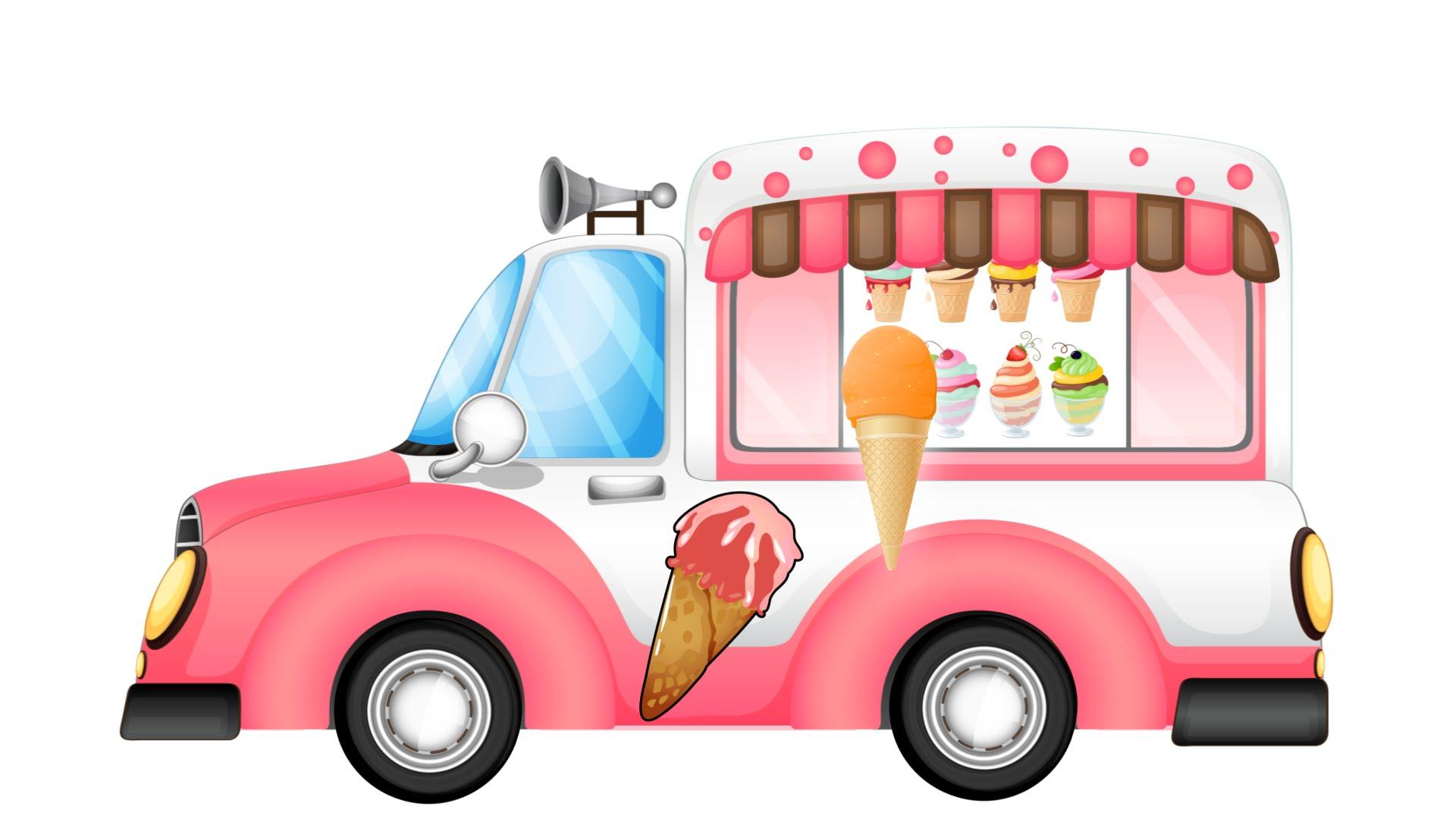 1920x1080 Ice Cream Truck! Colors For Children