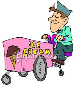 260x300 Ice Cream Man Clipart