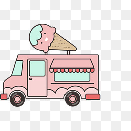 260x260 Ice Cream Truck Png, Vectors, Psd, And Clipart For Free Download