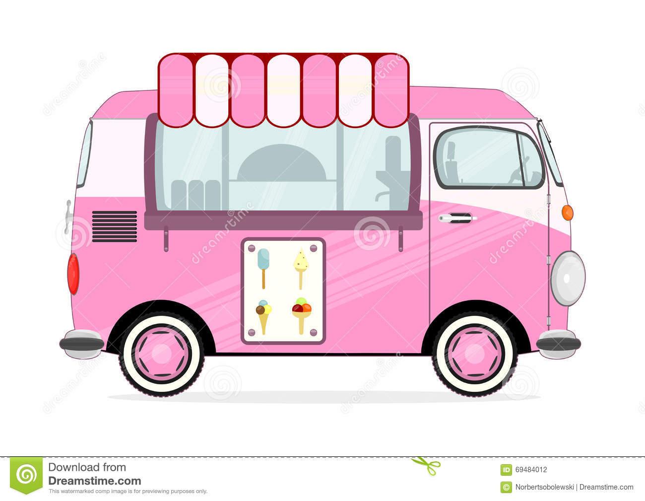 1300x1009 Ice Cream Van Clipart Ice Cream Truck Clip Art
