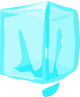 256x310 Ice Cube Clipart I2clipart