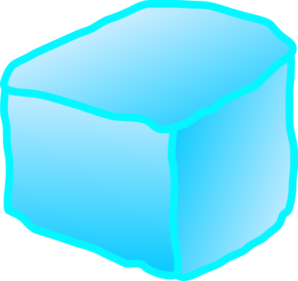 594x559 Ice Cube Clipart Svg