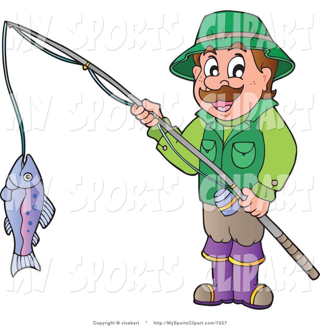 1024x1044 Guy Fishing Clipart