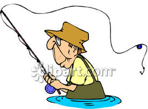 300x222 Man Fishing Clipart 101 Clip Art