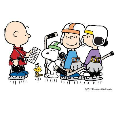 403x403 Snoopy Clipart Hockey