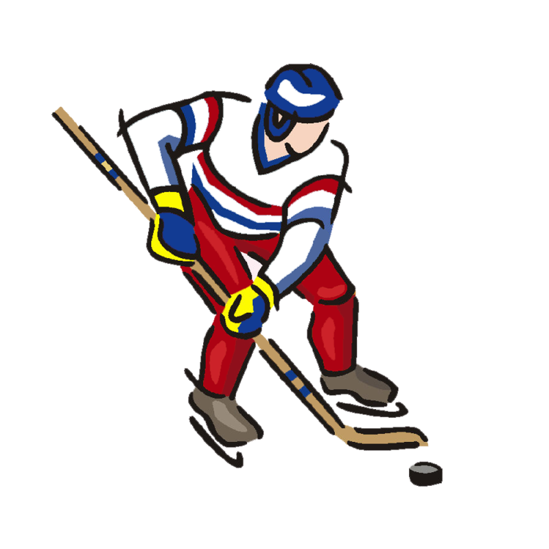 800x800 Ice Hockey Clipart