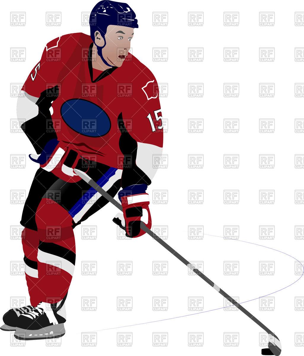 1026x1200 Hockey Player On Ice