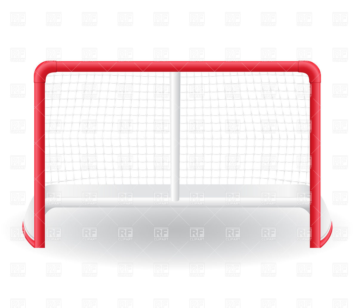 1200x1032 Ice Hockey Goal Vector Image Vector Artwork Of Sport And Leisure