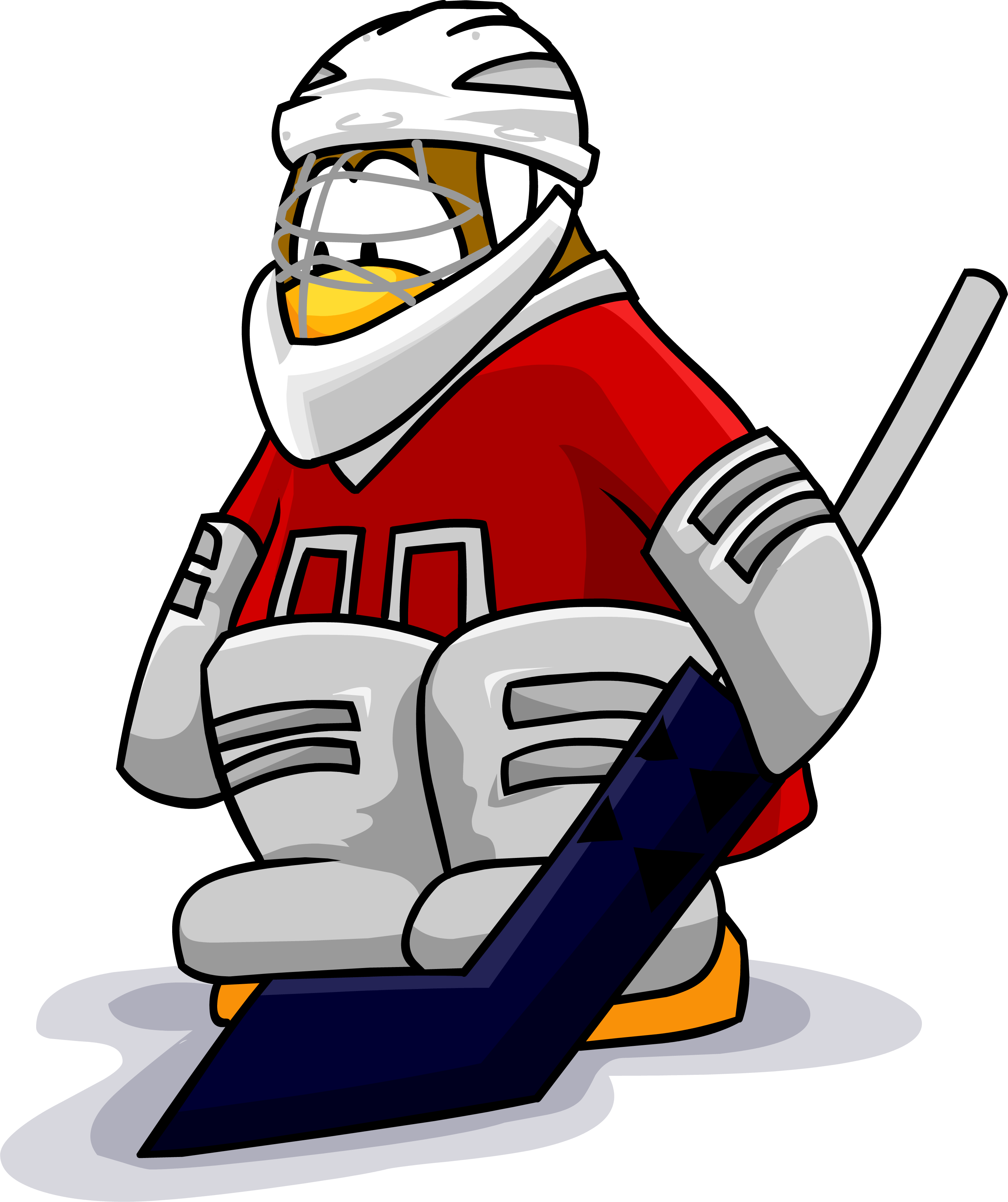 Ice Hockey Goalie Clipart At Getdrawings Com Free For Personal Use