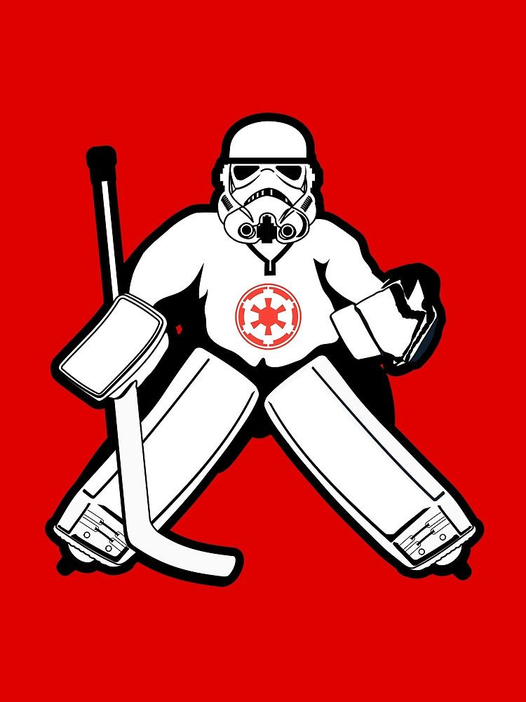 750x1000 Imperial Goalie By Hollingsworth (Via Redbubble)