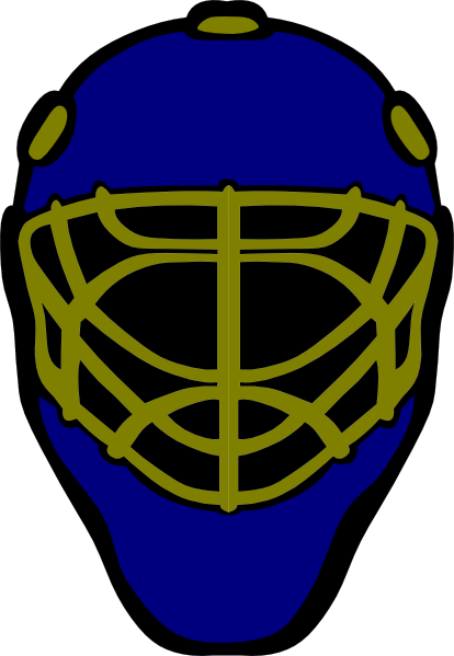 414x599 Mask Clipart Goalie