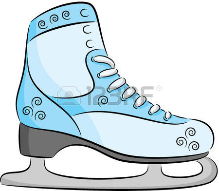 450x392 Blade Clipart Ice Skating