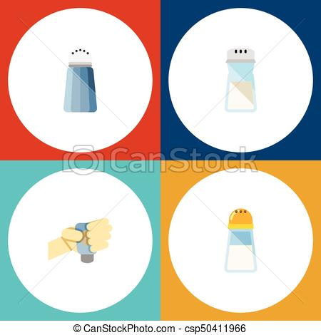 450x470 Flat Icon Sodium Set Of Flavor, Spice, Spicy And Other Clip Art