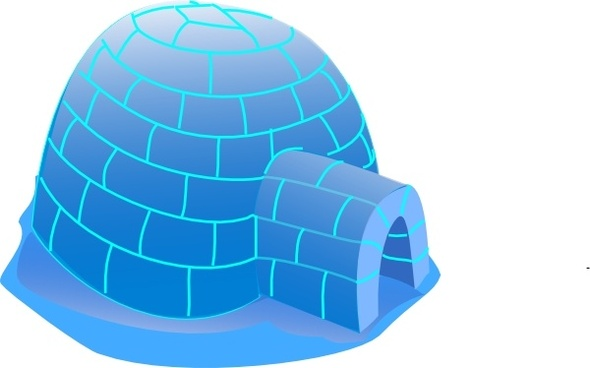 590x368 Free Vector Igloo Free Vector Download (8 Free Vector)