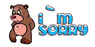 Im Sorry Clipart