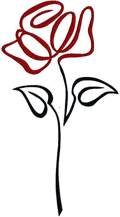 386x699 72 Best Flower Images On Embroidery Designs, Colouring