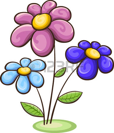 387x450 Cartoon Images Flowers Find Here More