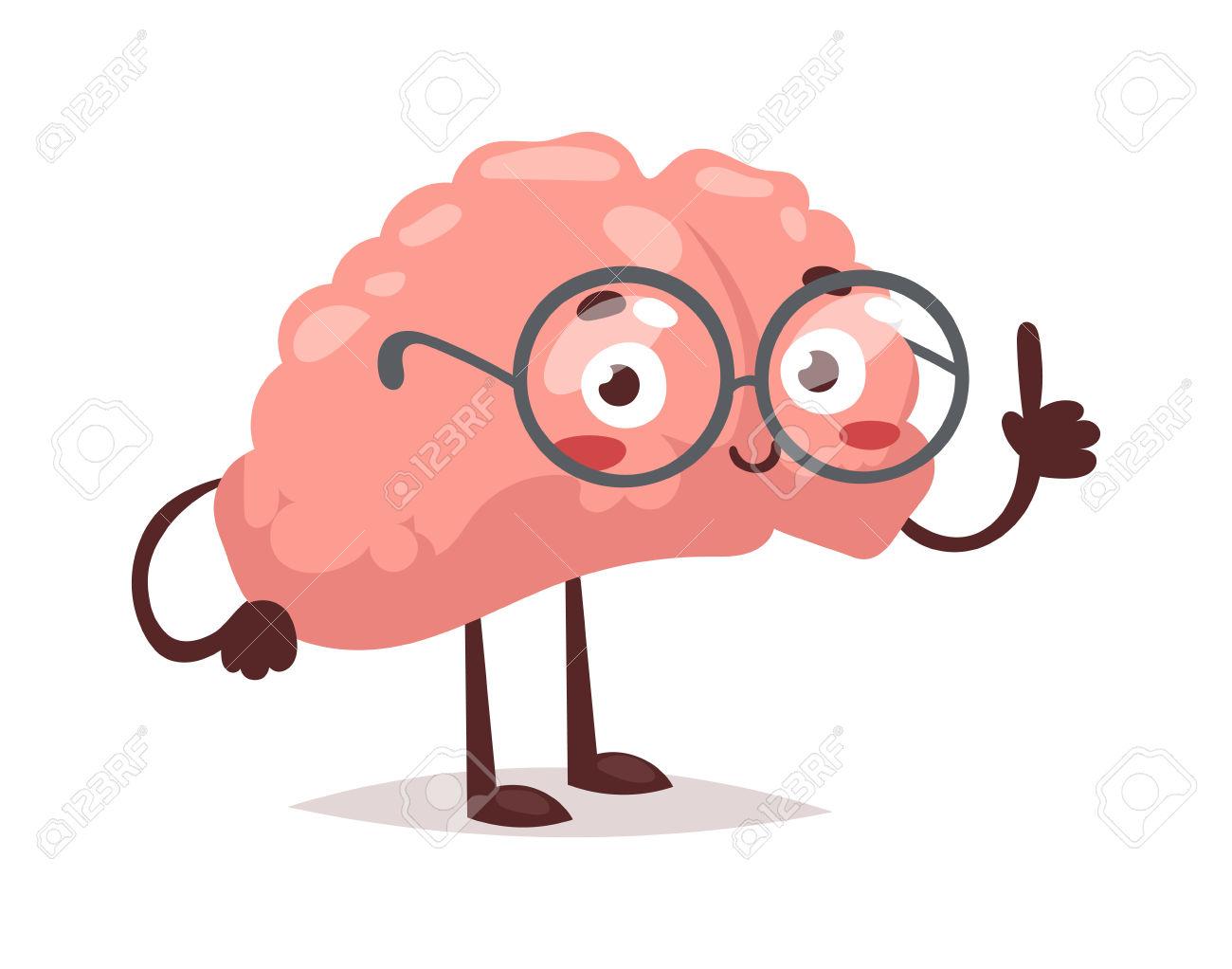 1300x1022 Cute Brain Clipart
