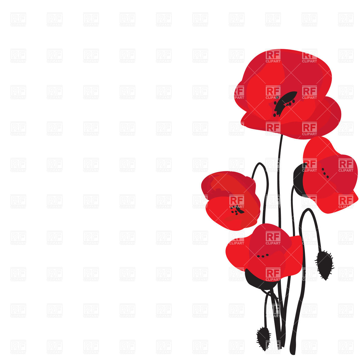 1200x1200 Imagination Free Images Of Poppies Four Red Ha