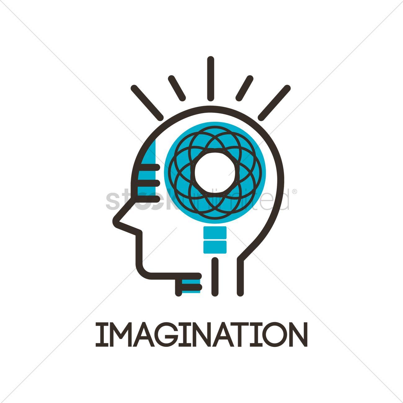 1300x1300 Imagination Icon Vector Image