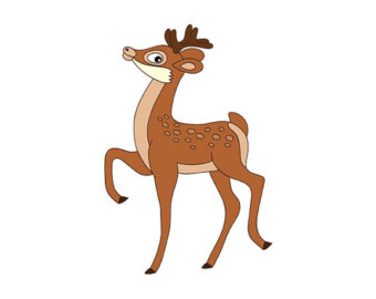 340x270 Baby Deer Cliparts Free Download Clip Art On 2