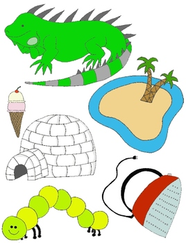 268x350 It Begins With I Clip Art For The Letter I And The Sounds It Makes!